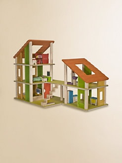PlanToys - Chalet Dollhouse & Furniture Set