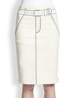 Band of Outsiders - Trompe L'Oeil Skirt