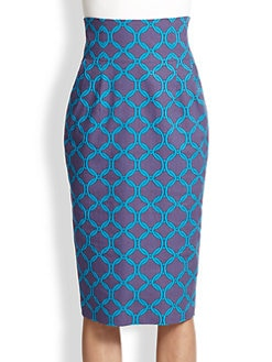 Stella Jean - Anphora Pencil Skirt
