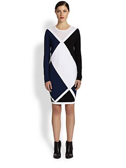 Ohne Titel - Argyle Dress