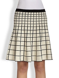 Ohne Titel - Grid Knit Skirt