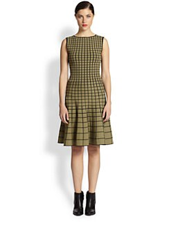 Ohne Titel - Grid Knit Dress