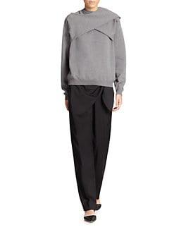 J.W. Anderson - Sleeve-Wrap Wool Sweater