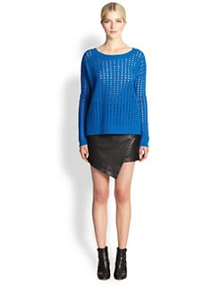 Tess Giberson - Boiled Wool Mesh Sweater