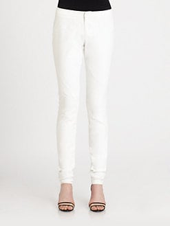 Tess Giberson - Coated Denim Leggings