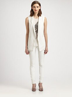 Tess Giberson - Split-Back Vest