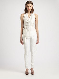 Tess Giberson - Reassembled Silk Shirt