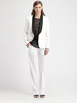 Neil Barrett - Contrast Tuxedo Blazer