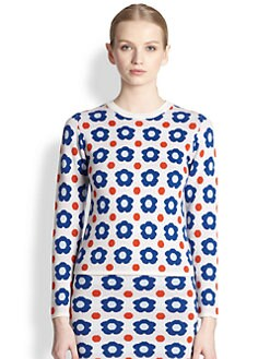 J.W. Anderson - Knit Floral Jacquard Sweater