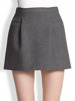 J.W. Anderson - Two-Pleat Mini Skirt