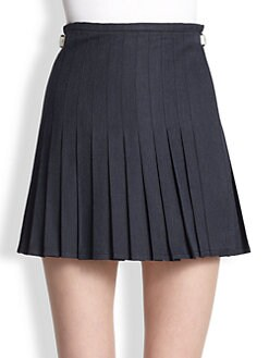J.W. Anderson - Brushed Cotton Mini Kilt