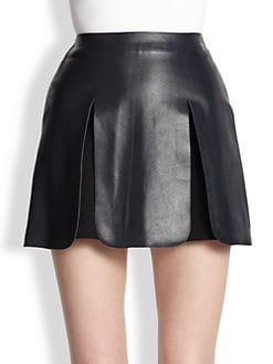 J.W. Anderson - Leather Panel Mini Skirt