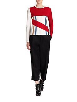 J.W. Anderson - Striped Rib-Knit Sweater