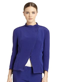 Costume National - Asymmetric Zip Jacket