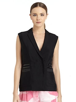 Costume National - Notched Collar Vest