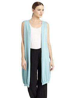 Costume National - Knit Open Back Cardigan