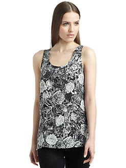 Thakoon - Floral Print Tank Top