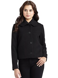 Cacharel - Ribbed Button-Front Jacket