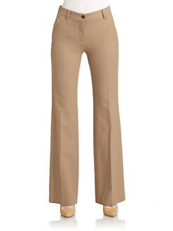 Moschino Cheap And Chic - Worsted Wool Trousers