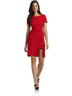 Moschino Cheap And Chic - Ruched Crepe Dress