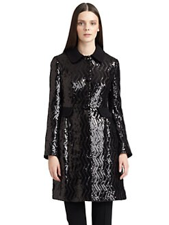 Moschino Cheap And Chic - Sequined Long Jacket