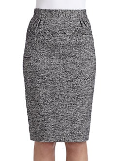 Moschino Cheap And Chic - Tweed Pencil Skirt