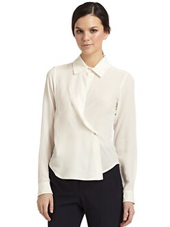 MaxMara - Silk Crepe Blouse