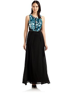 Sportmax - Pailette-Trimmed Gown