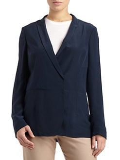 Calvin Klein Collection - Silk Satin Blazer