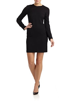 Calvin Klein Collection - Wool Sheath Dress