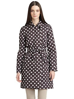 Moschino Cheap And Chic - Polka Dot Long Jacket