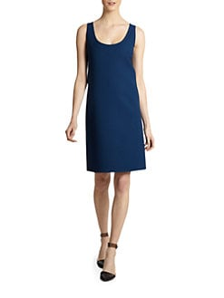 Calvin Klein Collection - Scoopneck Sleeveless Dress