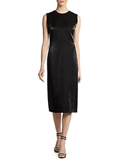 Calvin Klein Collection - V-Back Sleeveless Dress