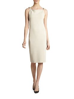 Calvin Klein Collection - Metal-Strap Dress