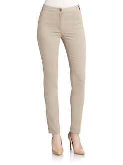 Moschino Cheap And Chic - Gabardine Skinny Pants