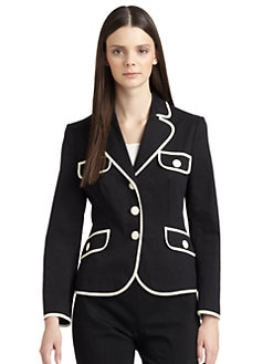 Moschino Cheap And Chic - High Contrast Cotton Jacket