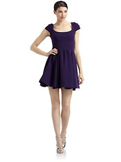 Zac Posen - Wool Crepe Party Dress