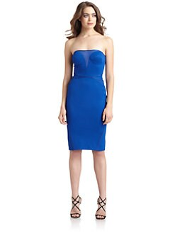 Zac Posen - Strapless Bonded Jersey Dress