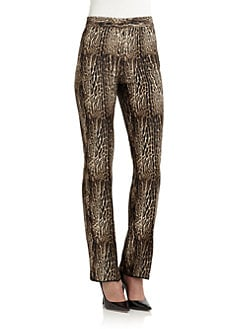 Giambattista Valli - Ocelot Trousers