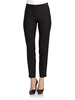 Moschino Cheap And Chic - Twill Straight-Leg Pants