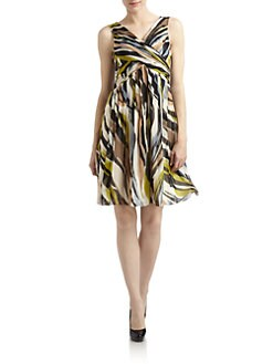 Moschino Cheap And Chic - Silk Chiffon Printed Dress