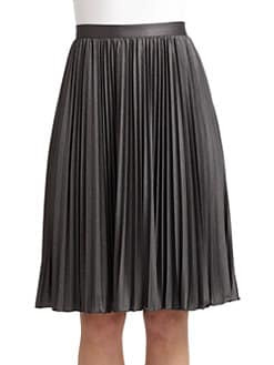 Moschino Cheap And Chic - Pleated Jersey Skirt