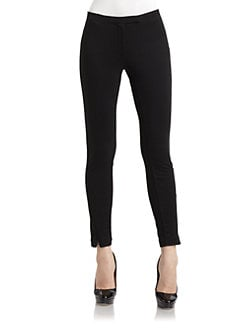 Philosophy di Alberta Ferretti - Zip Detail Jersey Pants