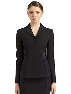 Philosophy di Alberta Ferretti - Satin Seamed Blazer