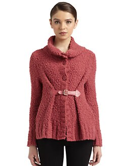 Philosophy di Alberta Ferretti - Buckle Boucle Cardigan