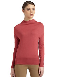 Philosophy di Alberta Ferretti - Cowlneck Wool Sweater