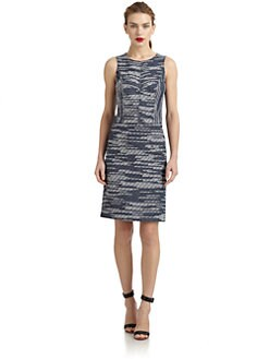 Derek Lam - Woven Stitched Shift Dress