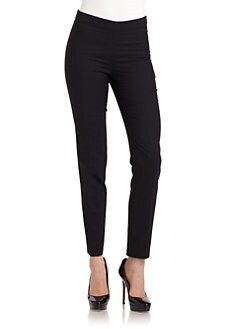 Moschino Cheap And Chic - Stitched Straight Leg Pants