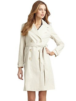Doo.Ri - Crisscross Back Trenchcoat/Cream