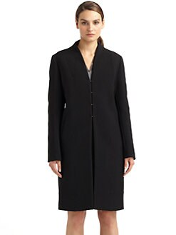 Costume National - Structured Wool Blend Coat